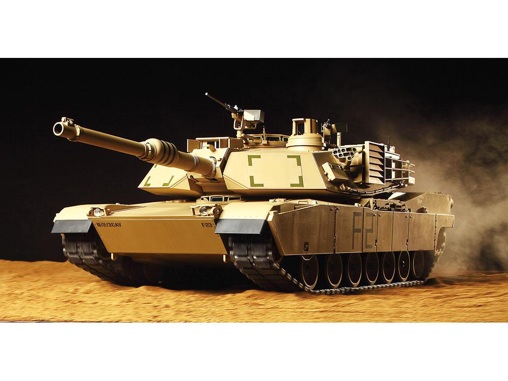 タミヤ 1 16 rcタンクシリーズ アメリカ m1a2 エイブラムス戦車 フル