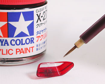 Application And Painting Tail Lamp