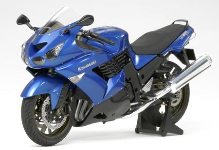 1/12 Kawasaki ZZR1400 Candy Thunder Blue (Finished Model)
