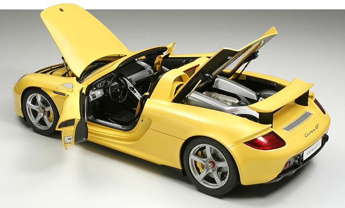 1/12 Porsche Carrera GT Yellow Version (Semi-embled Model)