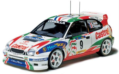 1:24 Tamiya TA24209 Toyota Corolla WRC