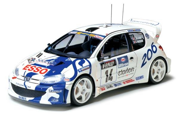 Tamiya 24221 Peugeot 206 WRC 1//24 scale kit
