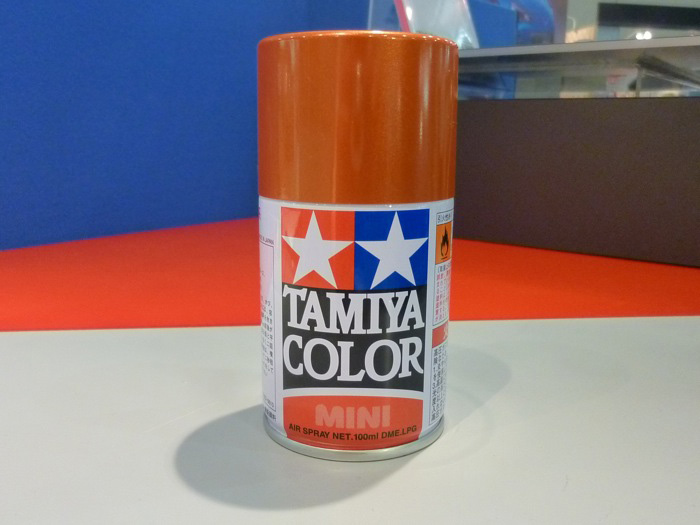 of course other tamiya color spray paints are also available - Tamiya Color