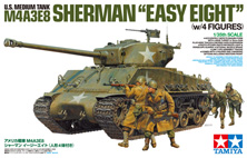 1/35 U S  Medium Tank M4A3E8 Sherman