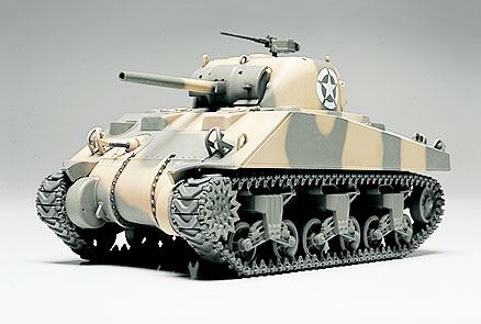 1/48 M4 Sherman Early Production 756th Battalion (Finished
