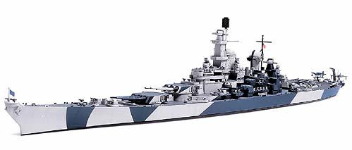 1/700 U S  Battleship BB-61 Iowa
