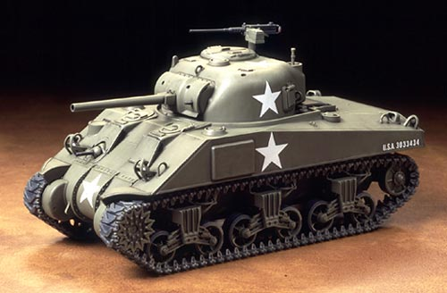 1/48 U S  Medium Tank M4 Sherman Early Production
