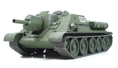 1/48 Russian Tank Destroyer SU-122
