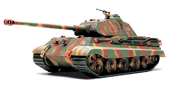танк kingtiger porsche turret