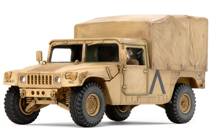1:48 U.S. Modern 4×4 Utility Vehicle (Cargo Type)