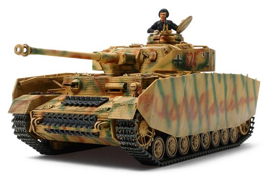 1 48 German Tank Panzerkampfwagen Iv Ausf H Late Production
