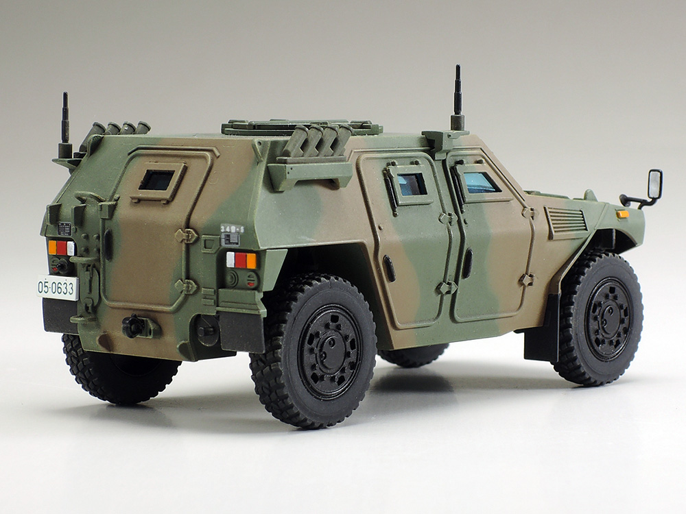 ☆Access To JGSDF Vehicles Allowed Us To Make This Comprehensive 1/48 Scale  Rendering Of The Light Armored Vehicle.