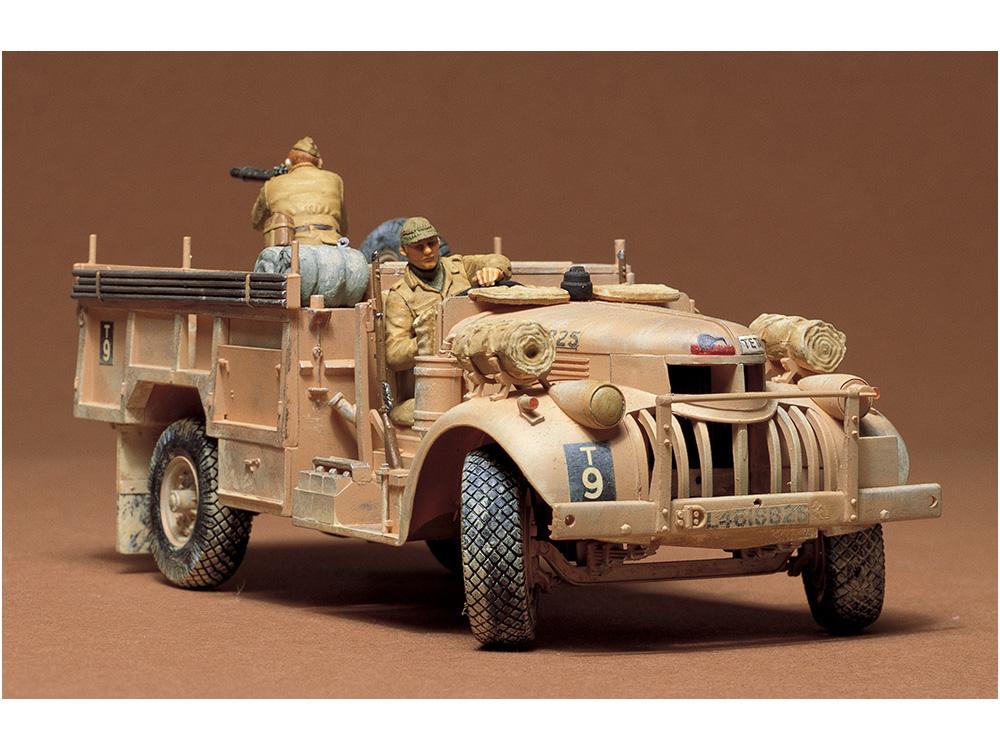 1/35 British L R D G  Command Car 30cwt Truck
