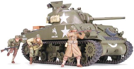 U S  Medium Tank M4A3 Sherman 75mm Gun Late Production (Frontline