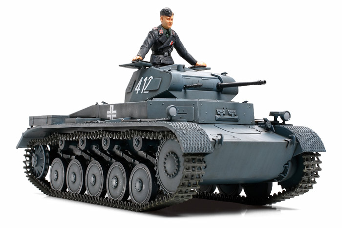 1/35 German Panzer II Ausf A/B/C (French Campaign)