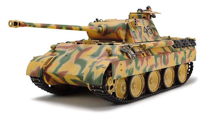 1/35 German Tank Panther Ausf D