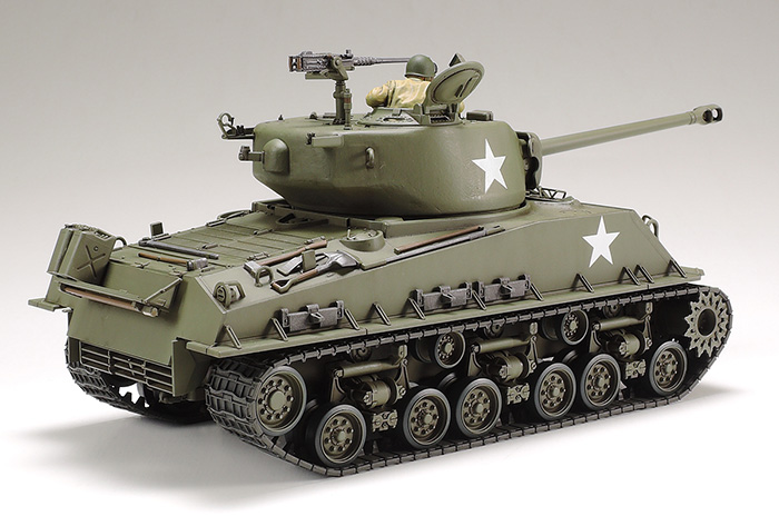 1/35 U S  Medium Tank M4A3E8 Sherman