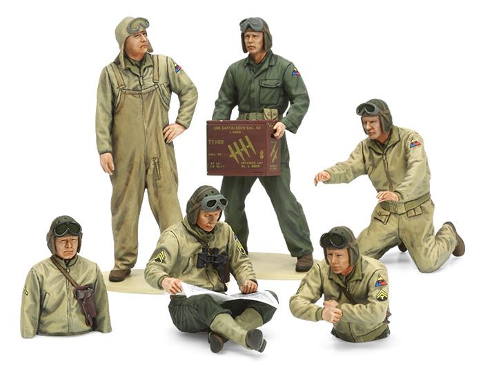1/35 U S  Tank Crew Set (European Theater)