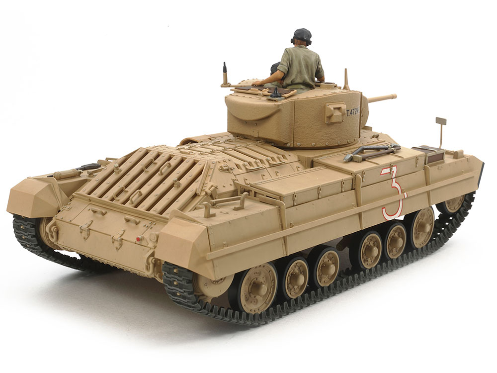 ☆This Artful Recreation Captures The Compact Valentine Infantry Tank Form  With Aplomb.