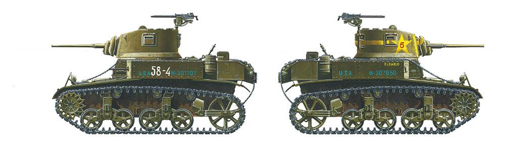 Maakalusto - Tamiya koottava pienoismalli panssarivaunu U S