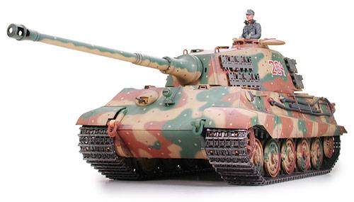 1 16 German King Tiger Quot Production Turret Quot Motorized
