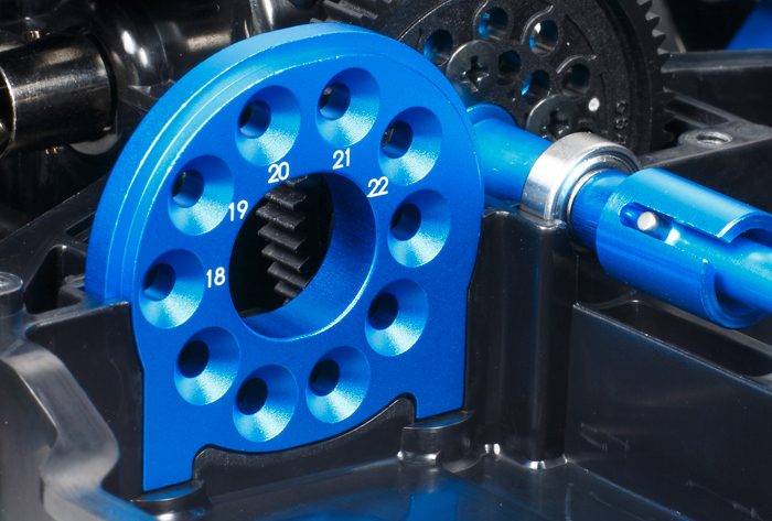 TAMIYA 1:10 TT-02 Chassis 51530 D-Teile Motorhalter Akkuhalter T2R/®