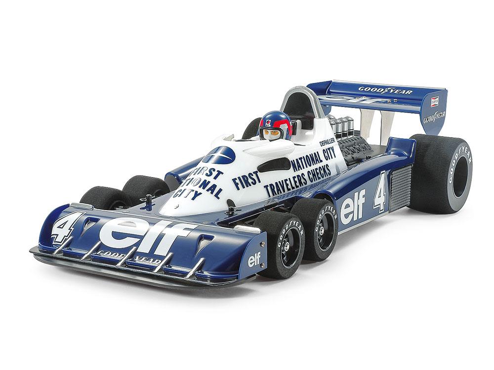 Náhled produktu - 1:10 Tyrell P34, 1977 Monaco GP (stavebnice)