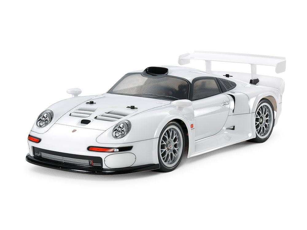 Náhľad produktu - 1:10 Porsche 911 GT1 Street 1996 TT-03R-S Chassis (stavebnica)