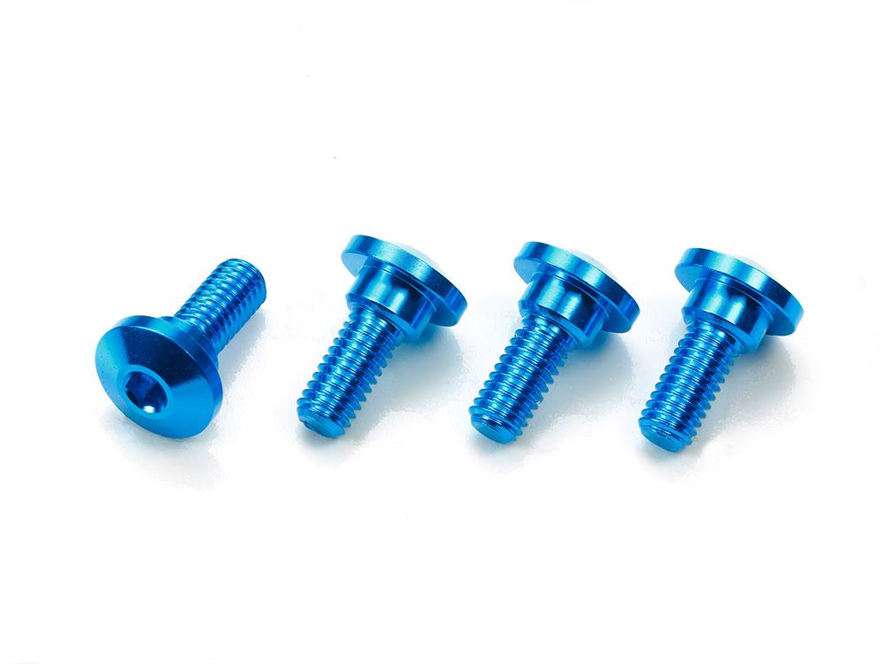 Aluminum Servo Step Screws (4pcs )