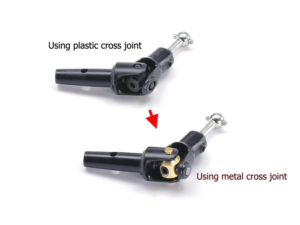4pcs. Tamiya 54928 RC SW-01 Metal Cross Joints