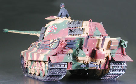 1 16 German Heavy Tank Type Vi King Tiger Production Turret