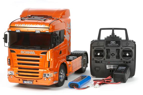 1/14 R/C Scania R470 Highline (Orange Edition)