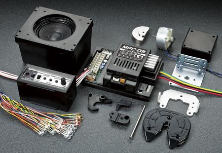 Tamiya Euro Style MFC-03 10005807 A-Teile Lautsprecher Box TMF®