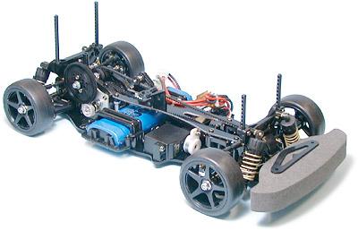 1 10 Rc Car Ta04 Pro Belt Drive 4wd Chassis Kit