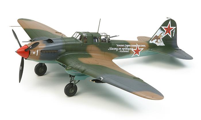 Neu Tamiya 61113-1//48 WWII Russische Ilyushin Il-2 Shturmovik