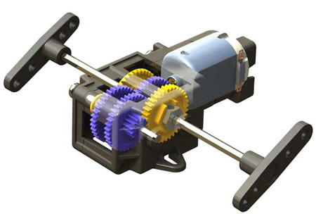 Single Gearbox (4-Speed)
