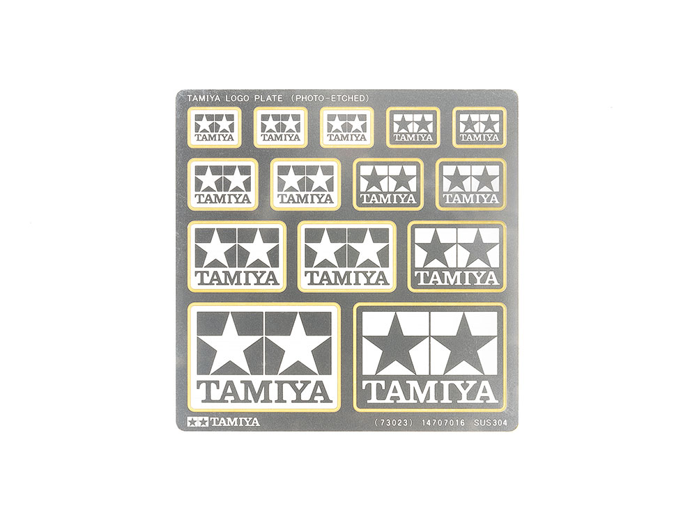 db8e929fbfa Tamiya Logo Plate (Photo-Etched)