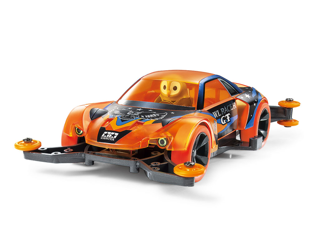 Mini 4WD Owl Racer GT