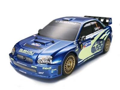 タミヤ 電動rcカーシリーズ 1 10rc スバル インプレッサ Wrc 2004 Tt 01 タミヤ